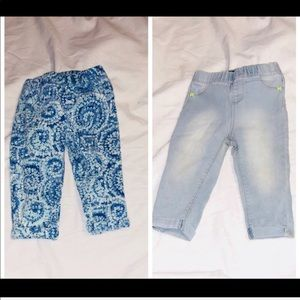 ♦️2 piece bundle girls 24 month jordache jeans